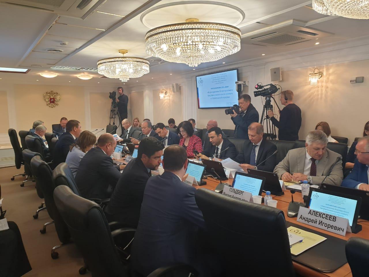 Начальник юридического отдела М.Шацкая приняла участие в парламентских слушаниях Совета Федерации РФ ASONO